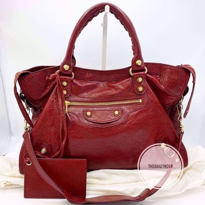 Picture of Balenciaga City G12 Deep Red