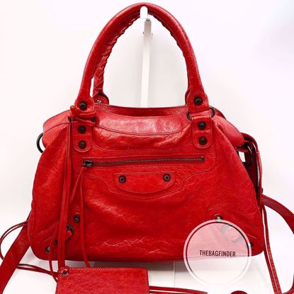 Picture of Balenciaga Town Red