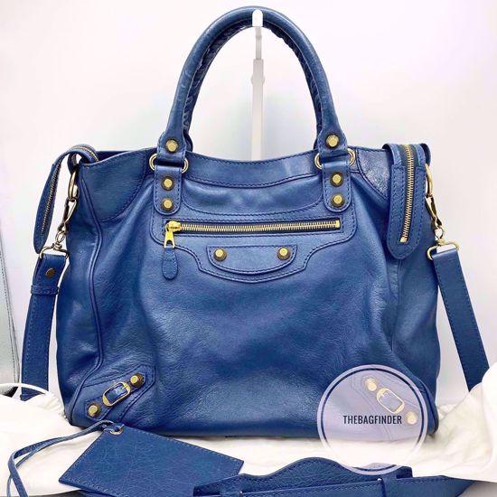 Picture of Balenciaga Velo G12 Denim Blue