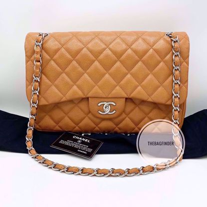 Picture of Chanel Jumbo Double Flap Caviar