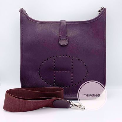 Picture of Hermes Evelyne Bordeaux PM