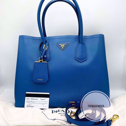 Picture of Prada Saffiano Cuir Cobalt