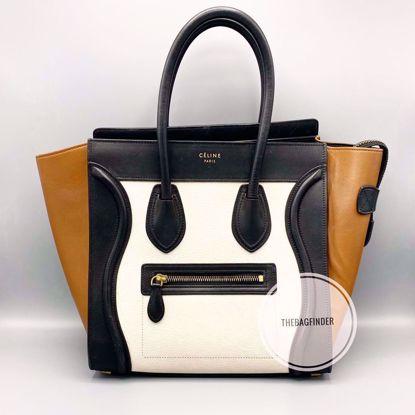 Picture of Celine Micro Luggage Tri Color