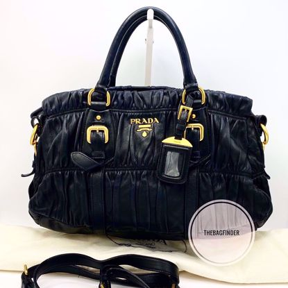 Picture of Prada Tessuto Gaufre All Leather
