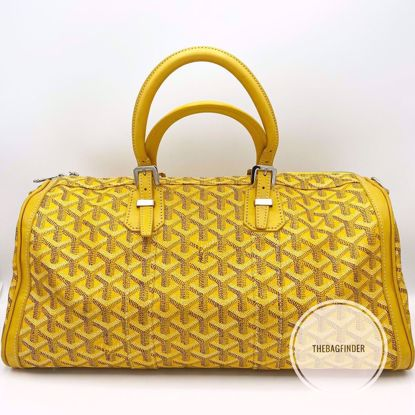 Picture of Goyard Croisiere 35 Yellow