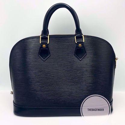 Picture of Louis Vuitton Epi Alma Black