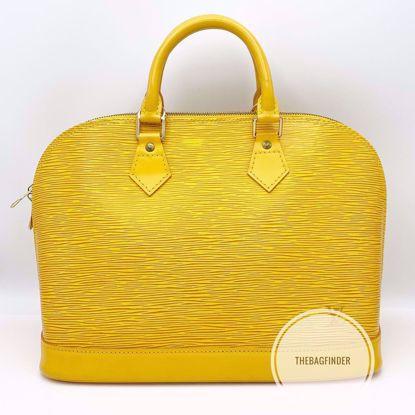 Picture of Louis Vuitton Alma Yellow Epi