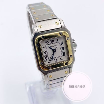 Picture of Cartier Santos Two Tone Automatic