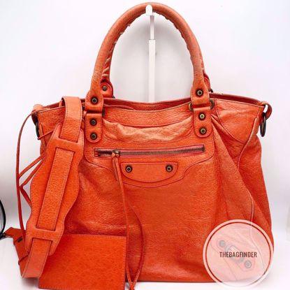 Picture of Balenciaga Velo Brick Red