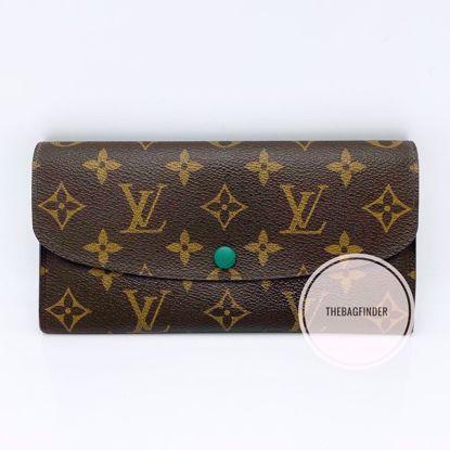 Picture of Louis Vuitton Emelie Wallet Green