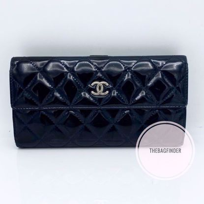 Picture of Chanel Patent Wallet