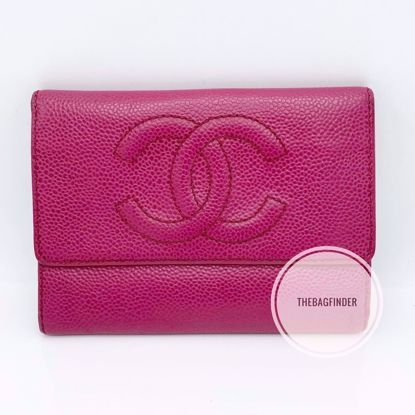 Picture of Chanel Caviar Large Bifold Wallet