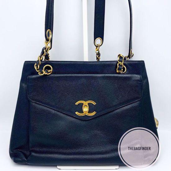Picture of Chanel Caviar Chain Tote