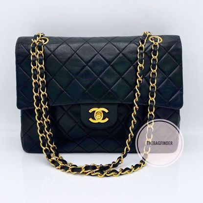 Picture of Chanel Double Flap Medium Square