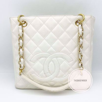 Picture of Chanel PST White Caviar