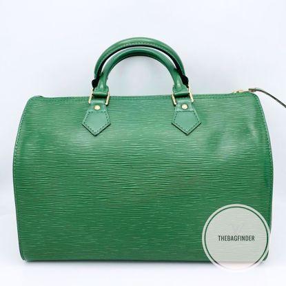 Picture of Louis Vuitton Speedy 30 Epi Green