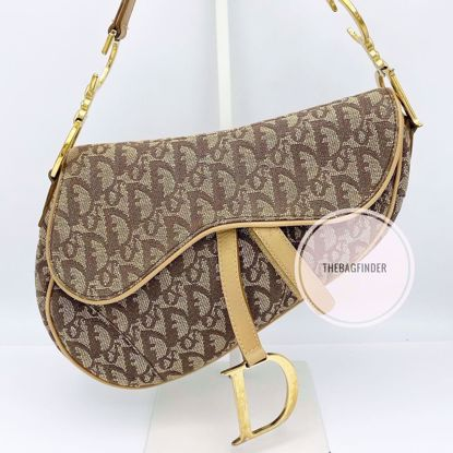 Picture of Dior Saddle Bag Brown