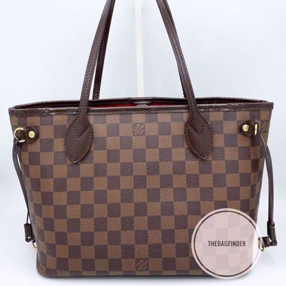 Picture of Louis Vuitton Neverfull PM Ebene Damier
