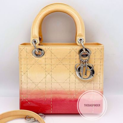 Picture of Dior Lady Cannage Medium Patent