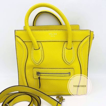 Picture of Celine Nano Drummed Leather