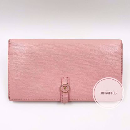 Picture of Chanel Caviar Pink Long Wallet