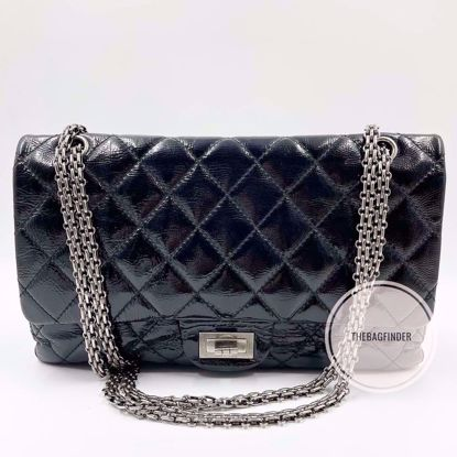 Picture of Chanel Jumbo Reissue Patent Black