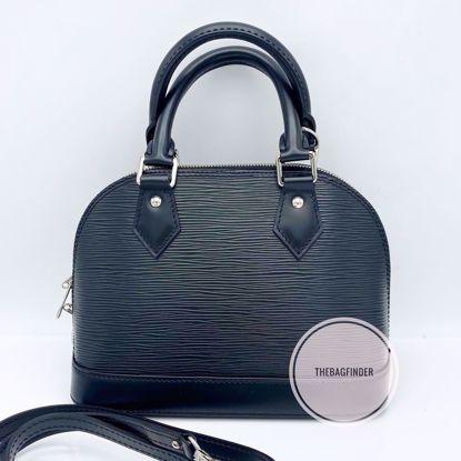 Picture of Louis Vuitton Alma BB Epi Black