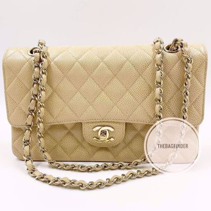 Picture of Chanel Caviar Double Flap Medium