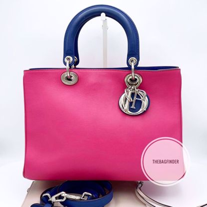 Picture of Dior Diorissimo Medium Tricolor