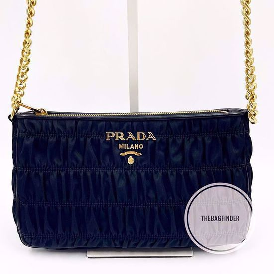 Picture of Prada Crossbody Tessuto Black