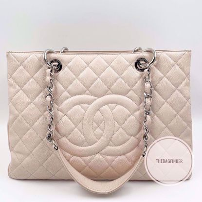 Picture of Chanel GST Caviar Light Pink