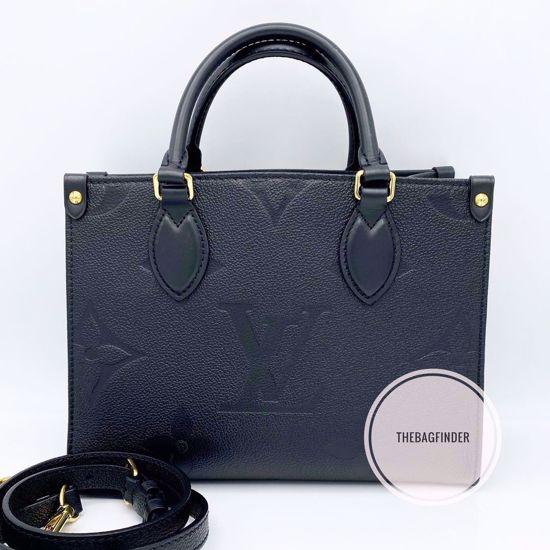 Picture of Louis Vuitton OnTheGo PM Empriente Black