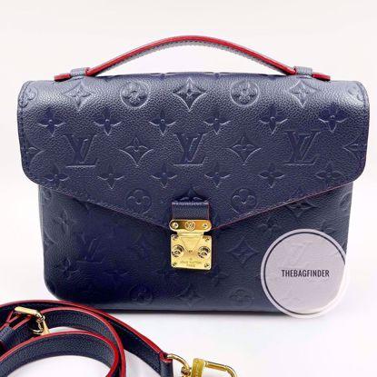 Picture of Louis Vuitton Pochette Metis Marine Rouge